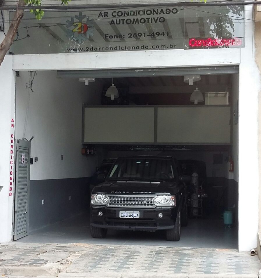 2D Ar Condicionado Automotivo - Nova Faixada